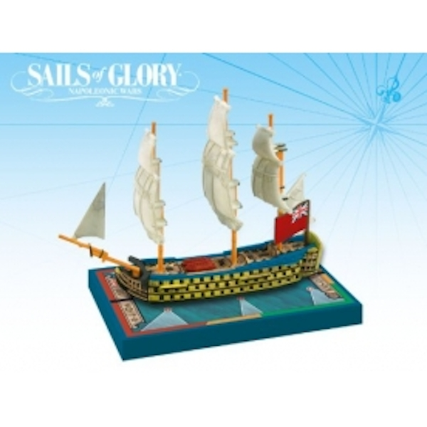 Sails Of Glory HMS Queen Charlotte 1790