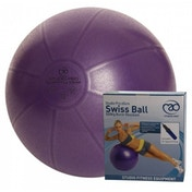 Fitness-Mad Studio Pro 500kg Anti-Burst Swiss Ball and Pump 55cm