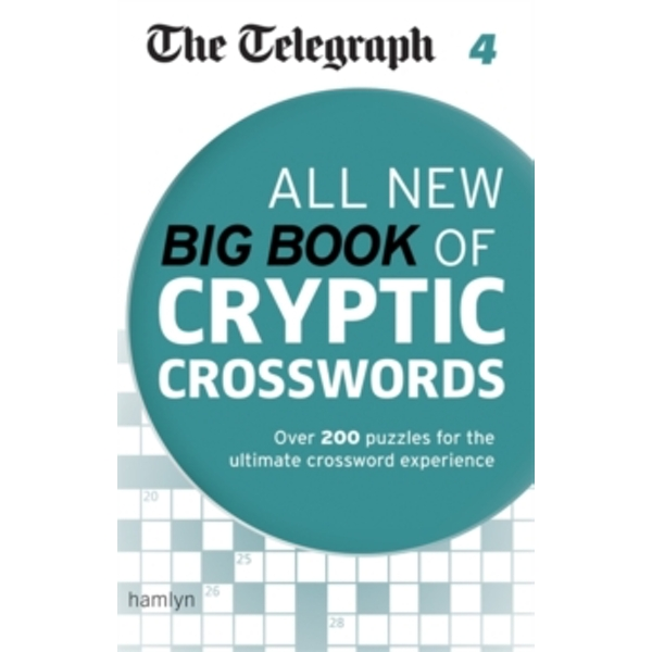 The Telegraph: All New Big Book of Cryptic Crosswords: 4 by The Telegraph (Paperback, 2014)