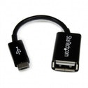 Startech 4in Micro USB to USB OTG Host Adapter M/F