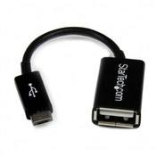 4in Micro USB to USB OTG Host Adapter M/F