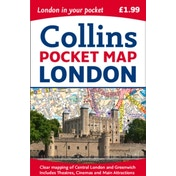 London Pocket Map by Collins Maps (Sheet map, folded, 2017)