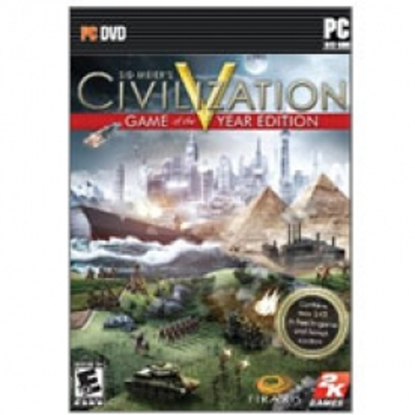 Sid Meier's Civilization V 5 Game Of The Year Edition (GOTY) PC (#)
