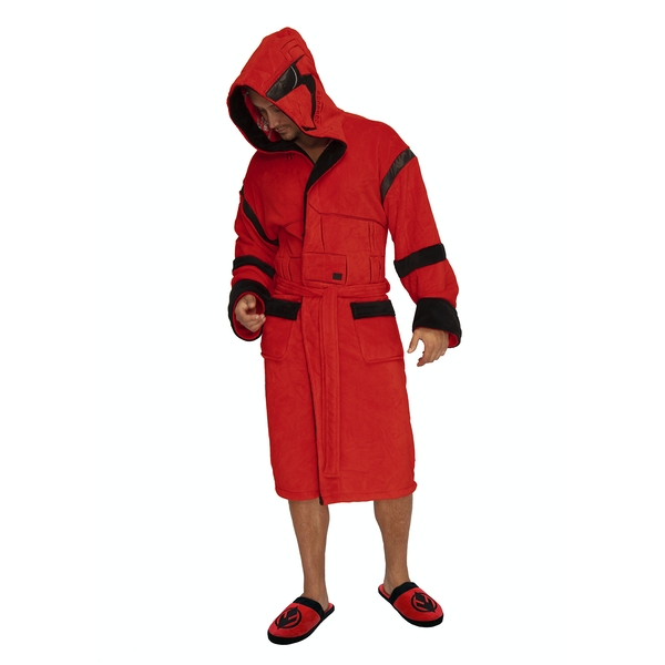 Star Wars Sith Trooper Hoodled Bathrobe (Dressing Gown) Unisex One Size Fits All - Image 1