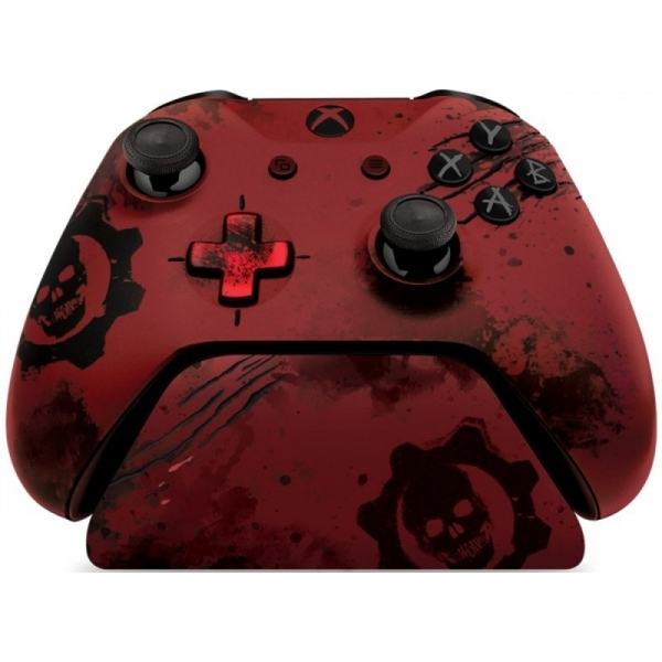 (Damaged Packaging) Gears of War 4 Crimson Omen 2 0 Controller Stand Xbox  One Used - Like New