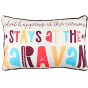 Stays At The Caravan Cushion
