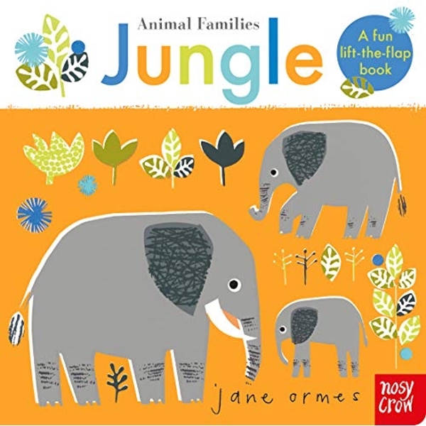 Animal Families: Jungle  Board book 2019