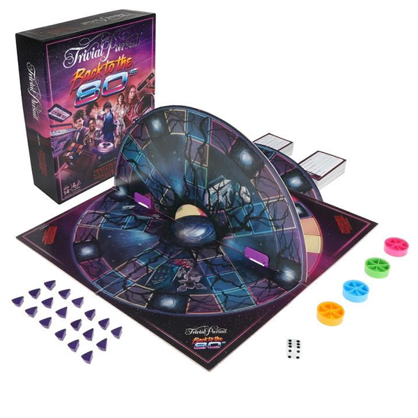 Trivial Pursuit Stranger Things Back To The 80's Board Game