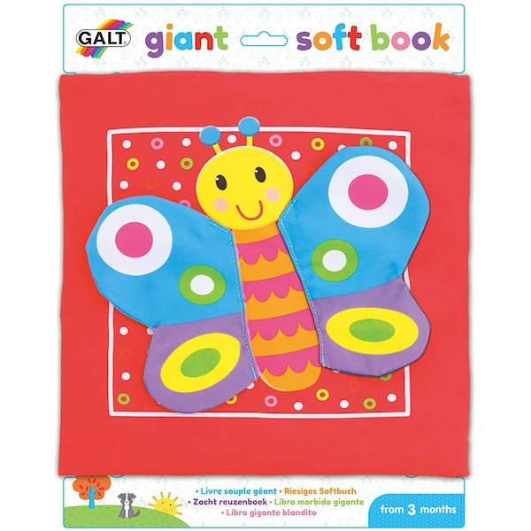 Giant Soft Book First Years Toy