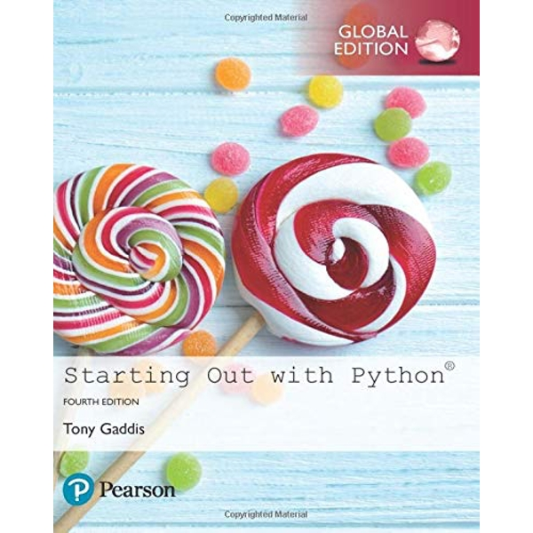 Starting Out with Python, Global Edition by Tony Gaddis (Paperback)
