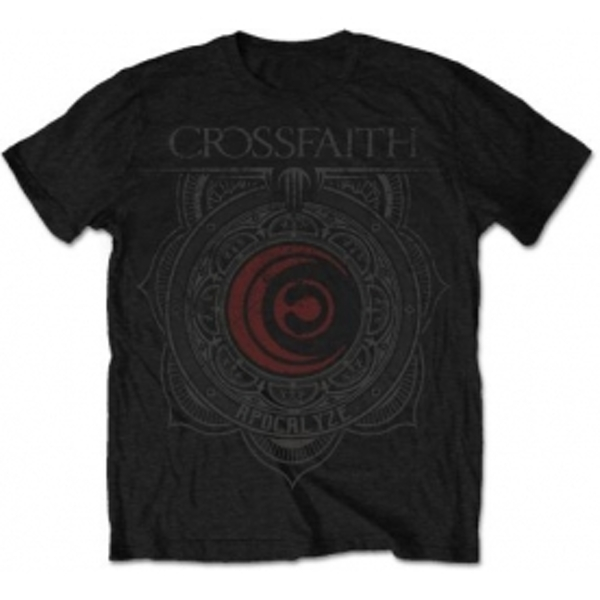 Crossfaith Ornament Mens Black T Shirt: X-Large