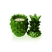 Lime Concrete Pineapple For Her Candle - Image 2