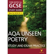 AQA English Literature Unseen Poetry Study and Exam Practice: York Notes for GCSE (9-1) by Pearson Education Limited (Paperback, 2017)