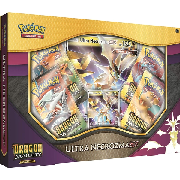 Pokemon TCG: Dragon Majesty Collection- Ultra Necrozma-GX