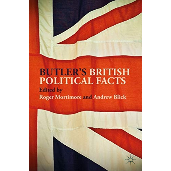 Butler's British Political Facts by Palgrave Macmillan (Paperback, 2017)