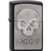 Zippo Phantom Skull Lighter Black Matte