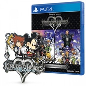 Kingdom Hearts HD 1.5 & 2.5 Remix PS4 Game (with Exclusive Collectible pin)