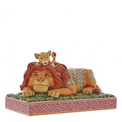 A Father's Pride Simba & Mufasa (Lion King) Disney Traditions Figurine