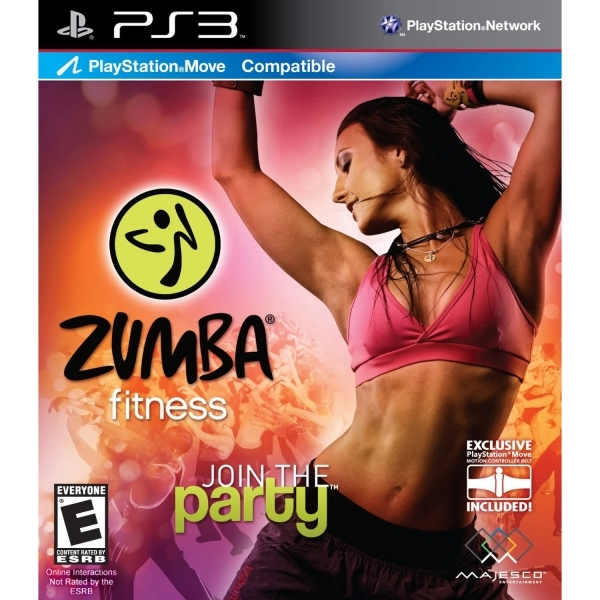 Playstation Move Zumba Fitness Game PS3