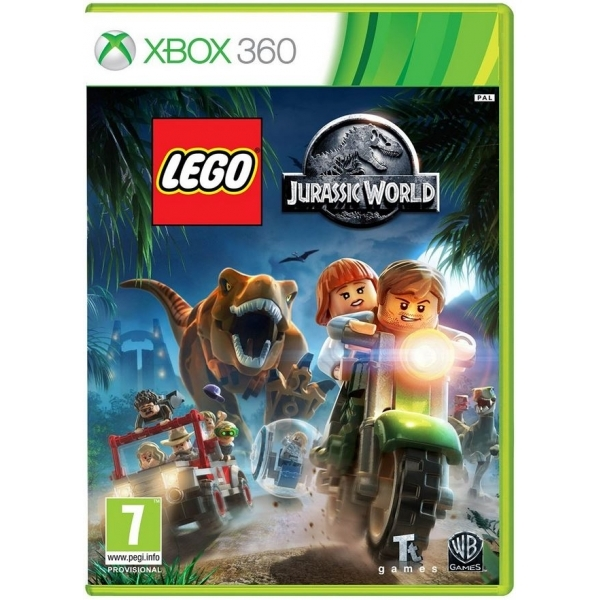 Lego Jurassic World Xbox 360 Game