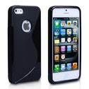 YouSave Accessories iPhone 5 / 5s S-Line Gel Case - Black