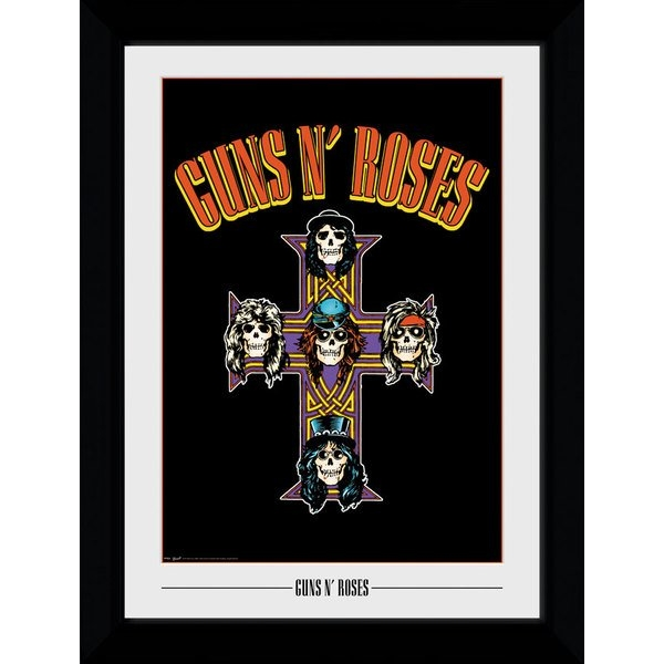 Guns N Roses Cross Collector Print