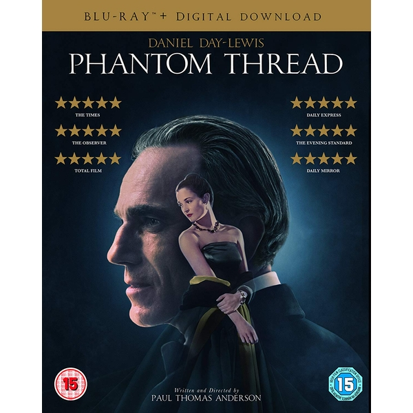 Phantom Thread Blu-ray   Digital download