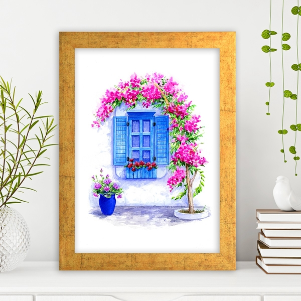 AC1485205982 Multicolor Decorative Framed MDF Painting
