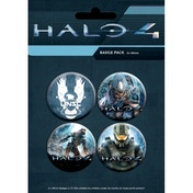 Ex-Display Halo 4 Master Chief Badge Pack Used - Like New