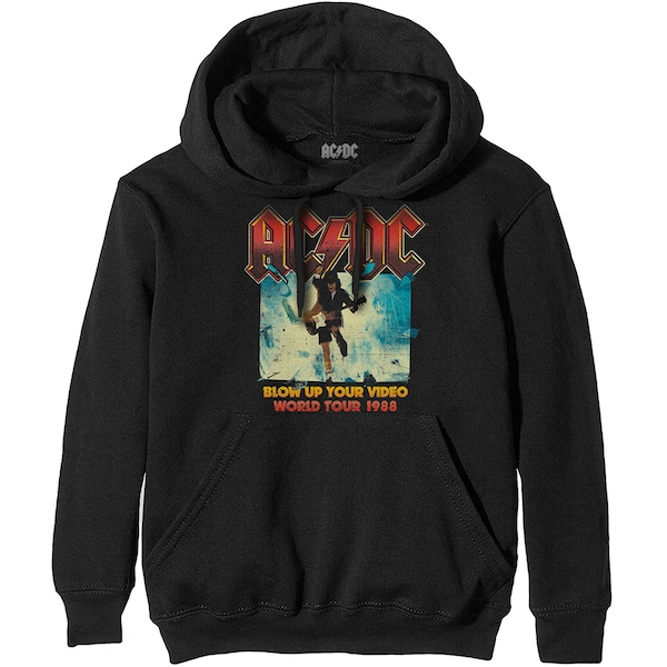 AC/DC - Blow Up Your Video Unisex XX-Large Hoodie - Black
