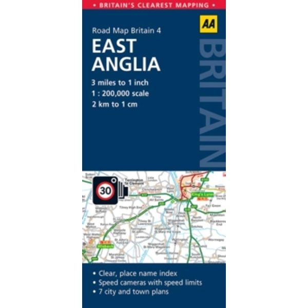 East Anglia Road Map : 4