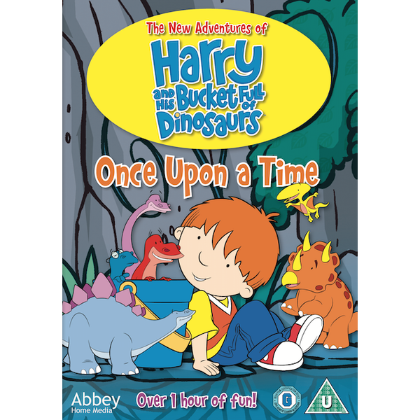 Harry & His Bucket Full of Dinosaurs - Once Upon a Time DVD