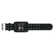 AC/DC - For Those About To Rock Leather Wrist Strap
