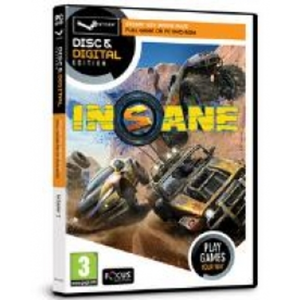 Focus Multimedia Insane 2 Game Disc and Digital Edition for PC