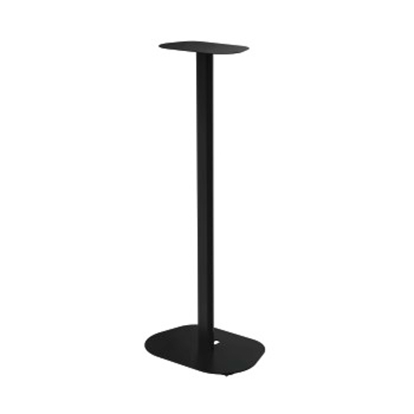 Hama Universal Speaker Stand with Exchangeable Storage Plates, black