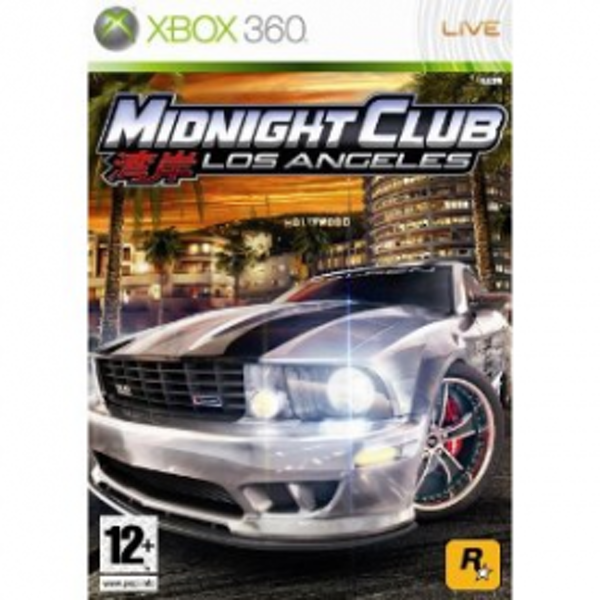 Midnight Club Los Angeles Game Xbox 360