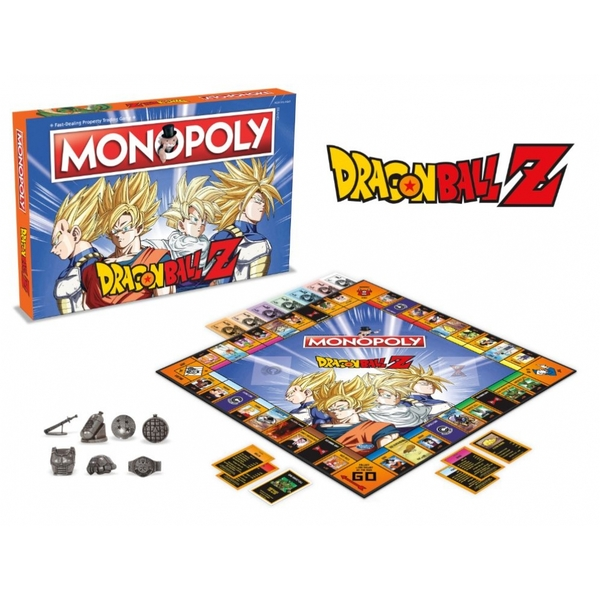 Dragon Ball Z Monopoly - Image 3