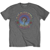 Grateful Dead - Bertha Circle Vintage Wash Men's XX-Large T-Shirt - Charcoal Grey