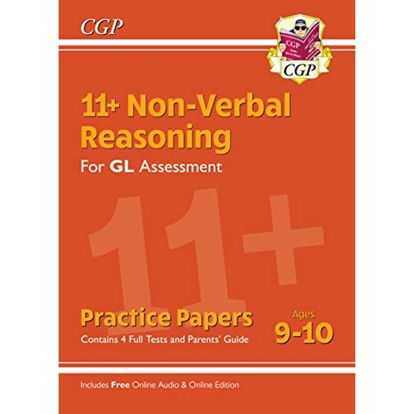 New 11+ GL Non-Verbal Reasoning Practice Papers - Ages 9-10 (with Parents' Guide & Online Edition)  Paperback / softback 2019