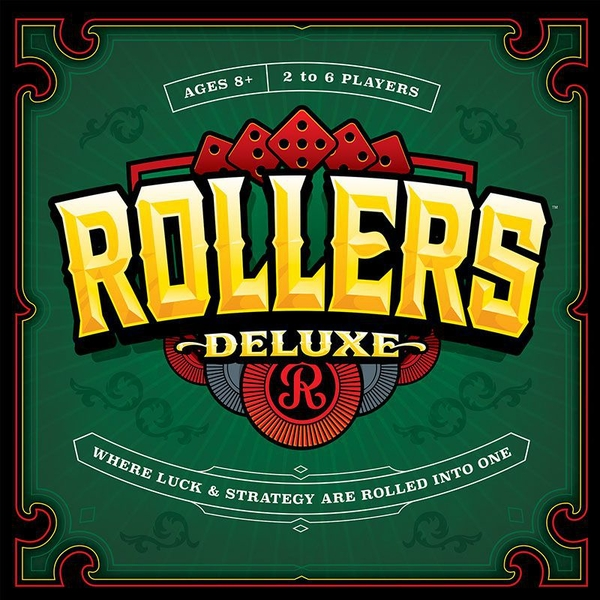 Rollers Deluxe Board Game
