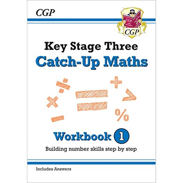 New KS3 Maths Catch-Up Workbook 1 (with Answers)  Paperback / softback 2018