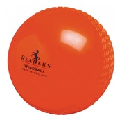 Readers Windball Training Mens Cricket Ball - Orange