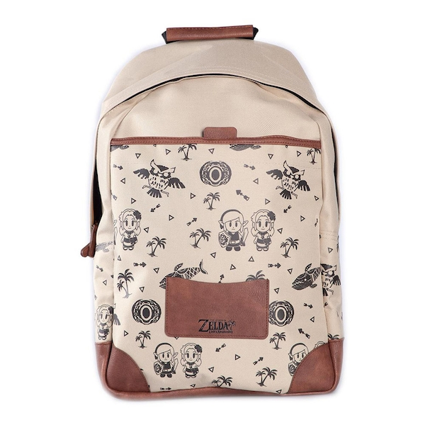 Nintendo - Link'S Awakening Unisex Backpack - Tan/Brown