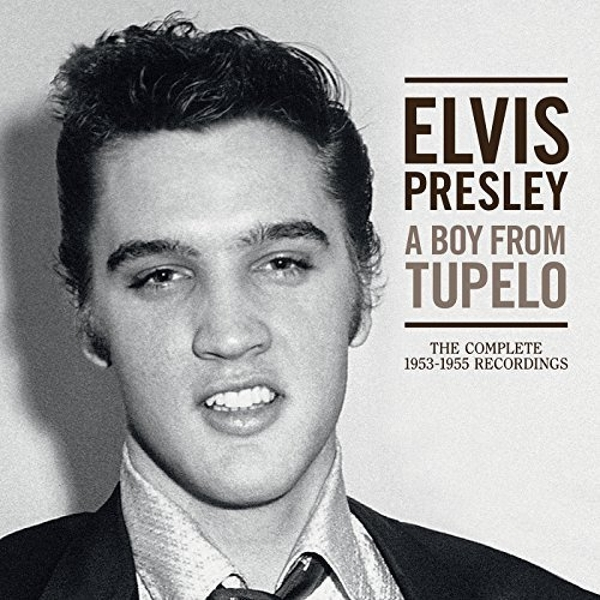 Elvis Presley A Boy From Tupel The Complete 1953-1955 Recordings CD