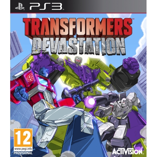 Transformers Devastation PS3 Game