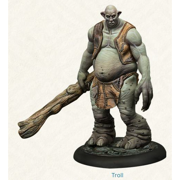 Harry Potter Miniatures Adventure Game Troll Adventure Pack Expansion