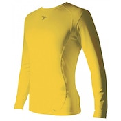 PT Base-Layer Long Sleeve Crew-Neck Shirt Small Yellow