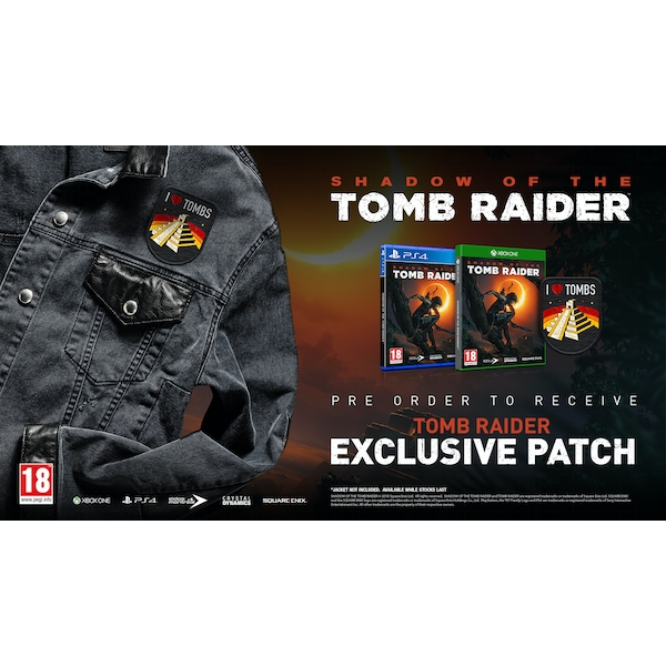Shadow Of The Tomb Raider PS4 Game + I Love Tombs Patch - Image 7