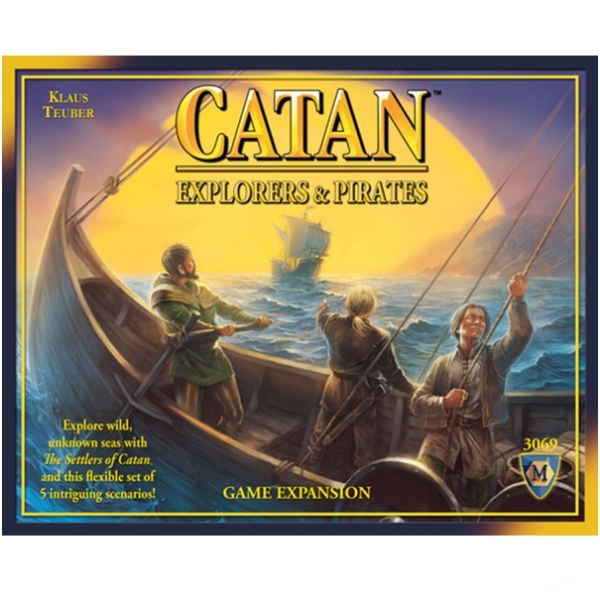 Catan Explorers & Pirates Expansion Board Game