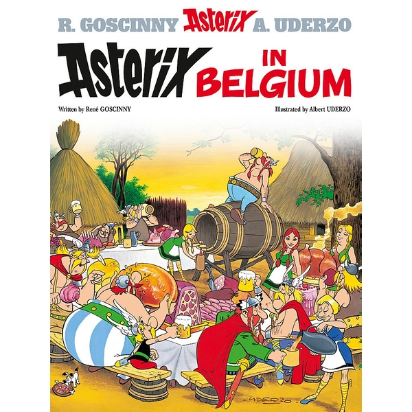 Asterix: Asterix in Belgium : Album 24 Hardcover